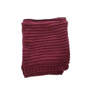 🍓2 for $30🍓 Zara Dark Red Winter Knit scarf